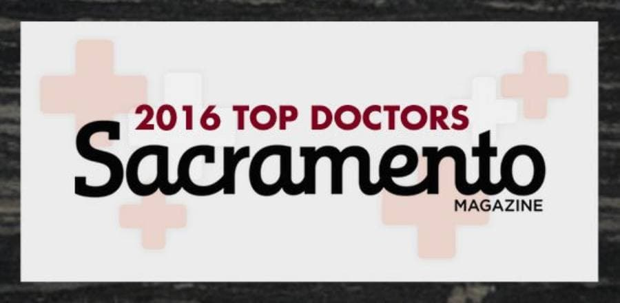 2016 Top Doctors Sacramento Magazine